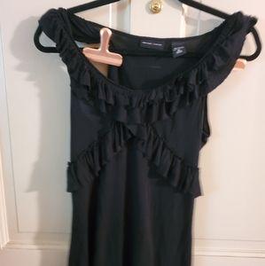 NY & Co shirt. Sz M. Black